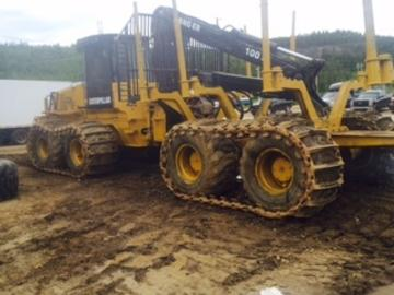 Caterpillar Transporteur 584D